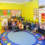 W Przedszkolu Słoneczny Domek odbywają się różne przedstawienia, teatrzyki i spektakle dla dzieci.