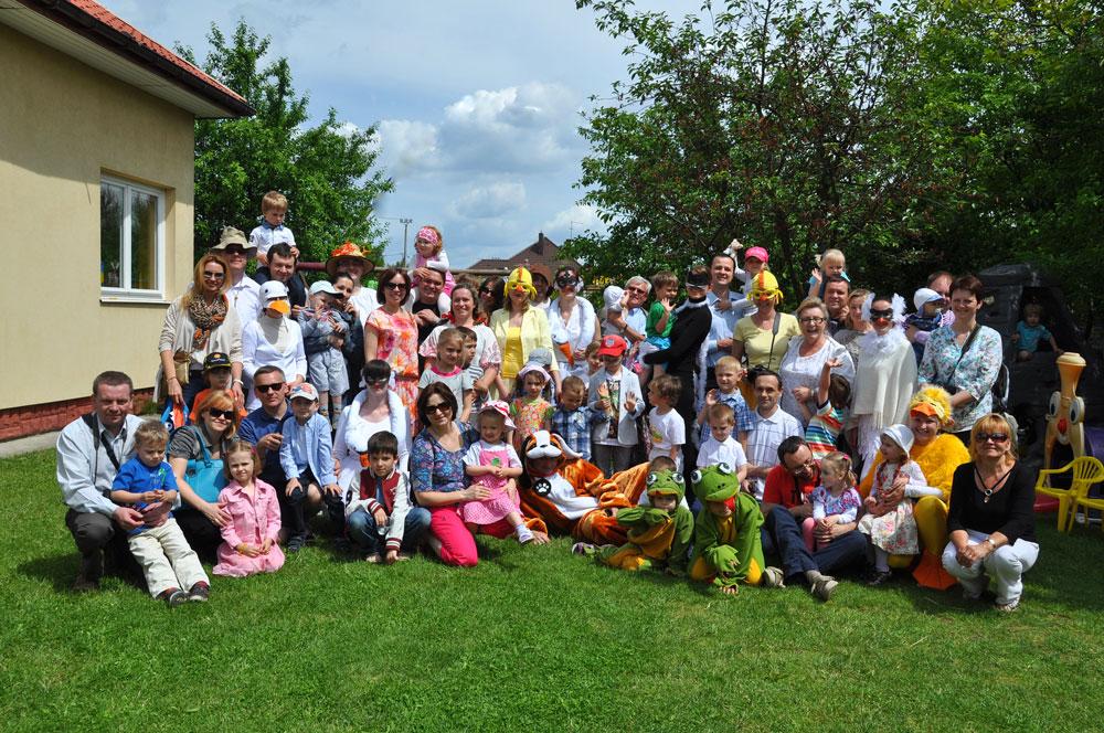 Niepubliczne Przedszkole Słoneczny Domek kształtuje postawy prorodzinne, rówieśnicze i wspólnotowe