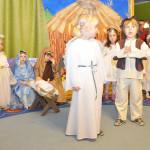 W naszym przedszkolu odbywają się różne uroczystości - Dzień Dziecka, Dzień Babci i Dziadka, Jasełka, Dzień Matki i Ojca
