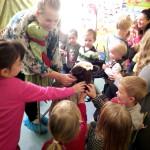Teatrzyk Calineczka w Przedszkolu Słoneczny Domek w Lipkowie